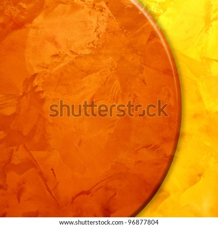 Yellow and brown textured. golden design background