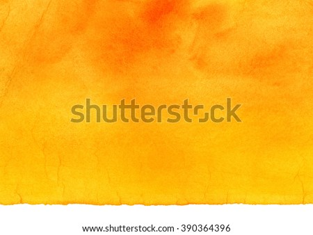 yellow and orange watercolor...