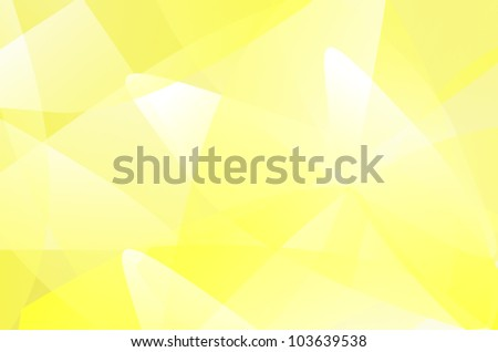 yellow and white background of abstract  curves