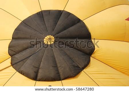 Yellow balloon texture