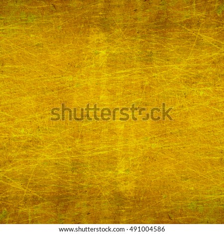 yellow beige background. Vintage cement texture wall #491004586