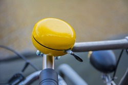 Yellow bike bell