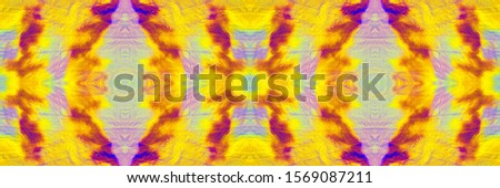 Yellow Blush Tie Dye Cloth Texture. Saturated Geometric Geometric Design. Mustard Salmon Endless Eastern Tiles. Yellow Rose Tie Dye Wash. Hued Geometrical Ikat Pattern.