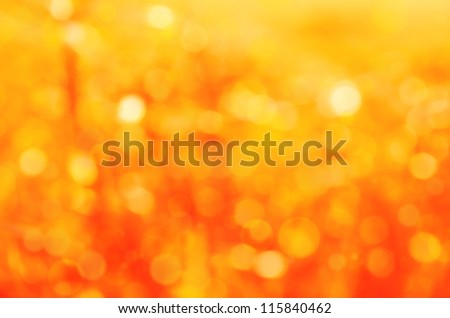 yellow bokeh abstract christmas background