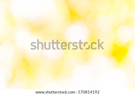 yellow bokeh background from nature under tree shade #570814192