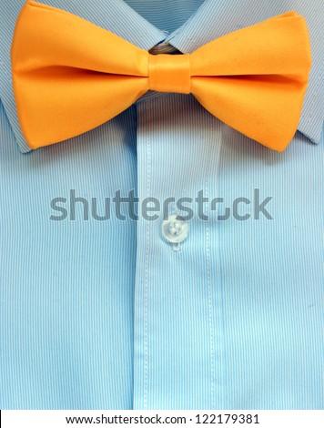 yellow bow tie