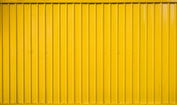Yellow box container striped line textured