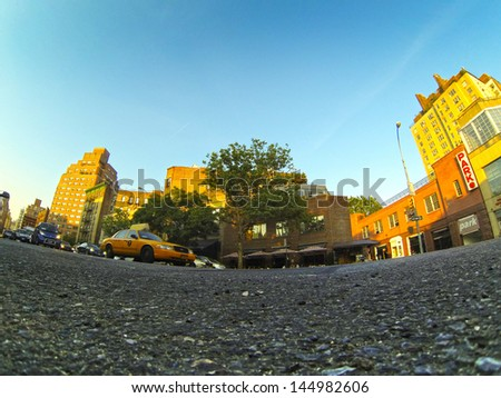Yellow Cab in New York #144982606
