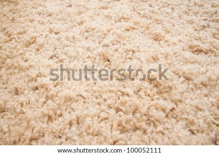 yellow carpet texture, close-up