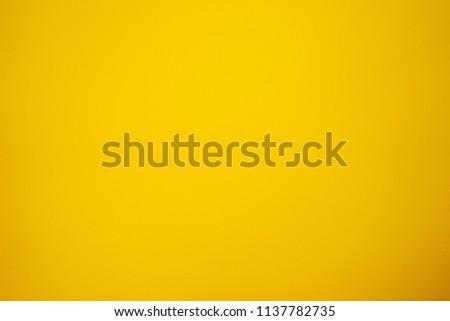 Yellow cement floor, light shadow color. #1137782735
