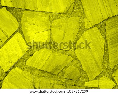 yellow cement wall background #1037267239