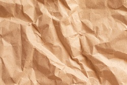 Yellow clumped Paper texture background, kraft paper horizontal with Unique design of paper, Natural style For aesthetic creative design