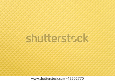 Yellow Color Rubber Floor Abstract Background .