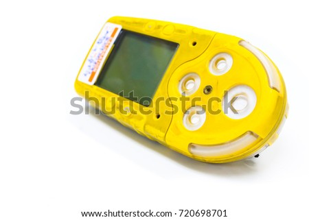 yellow coloured portable gas...