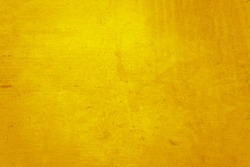 yellow concrete or cement material in abstract wall background texture.