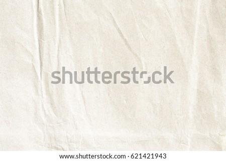 Yellow crumpled paper texture - Shutterstock ID 621421943
