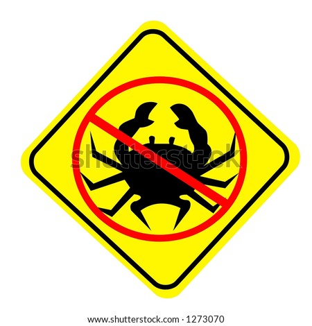 no crabs