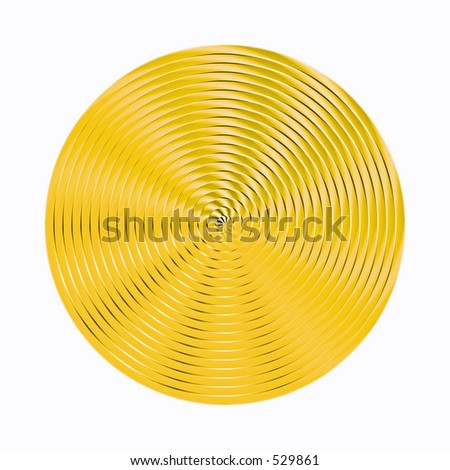 yellow disc #529861