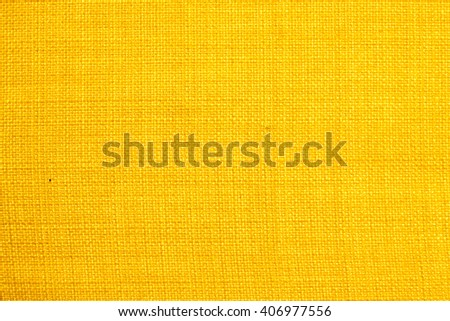 Yellow fabric texture #406977556