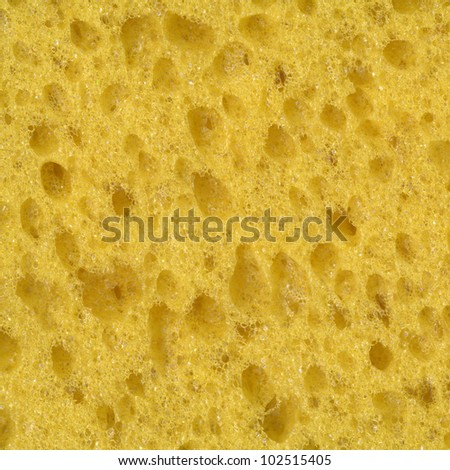 Yellow Foam Rubber Texture. Illustration for design.