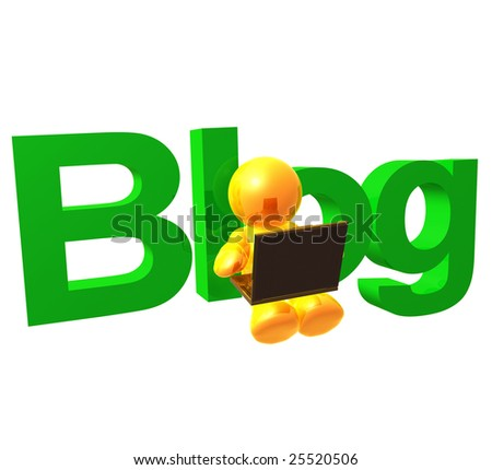 Yellow gold icon friend blogging with comfort - stock photo