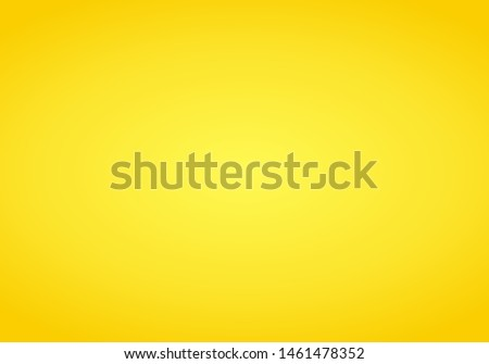 Yellow Gradient abstract background. Orange template background. Yellow empty room studio gradient used for background.