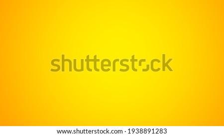 Yellow gradient background illustration, abstract backgrounds, background design, yellow background