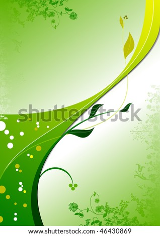 green and yellow background images. stock photo : Yellow green