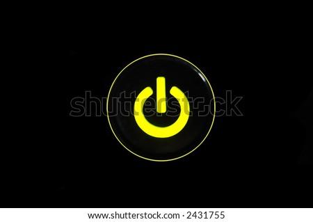 Yellow-Green power button