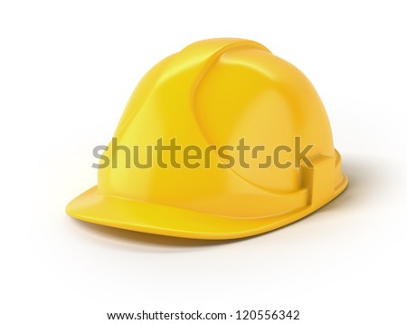 Yellow helmet