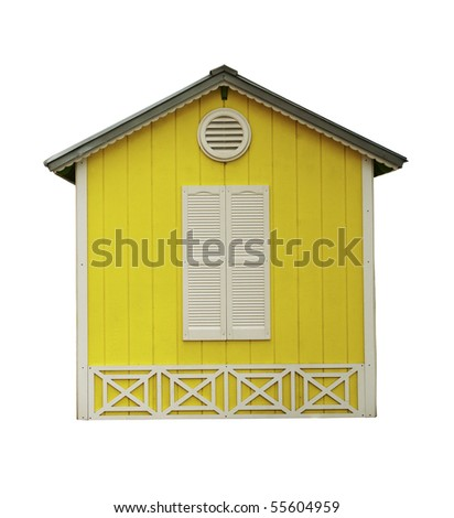 Yellow hut