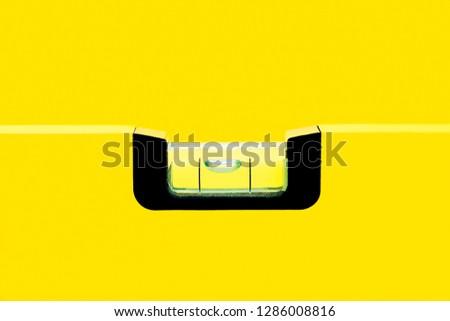 Yellow in yellow in yellow. And yellow also. Spirit level. #1286008816