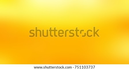 Yellow large format banner. Amber blurred background. Lemon juice abstract texture. Golden honey empty illustration.  #751103737