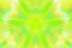 Yellow-lime radiant background.