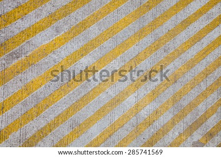 yellow line on the road texture #285741569