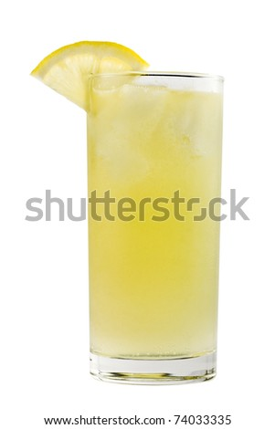 Yellow long drink