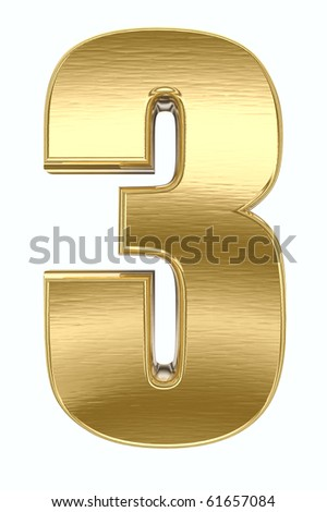 Yellow metal number