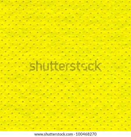 Yellow microfiber textile texture. Background for design