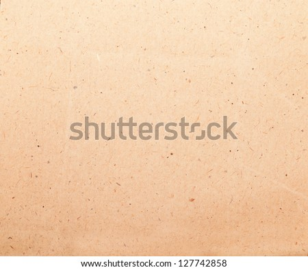 Yellow old paper or paper background