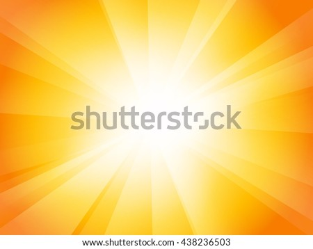 yellow orange sunburst background