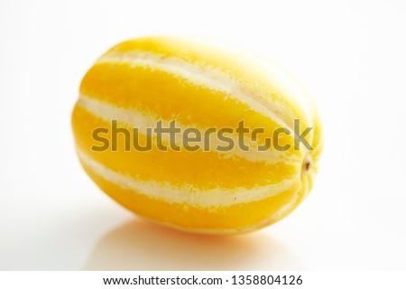 Yellow oriental melon  #1358804126