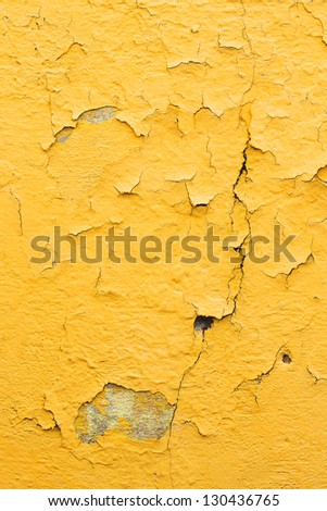 yellow paint wall texture