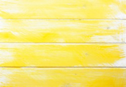 yellow painted planks as background