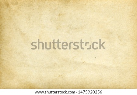 Yellow paper. Vintage paper background.
