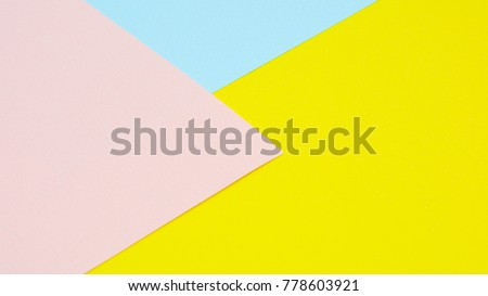 yellow, pink and blue paper texture #778603921