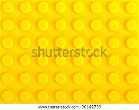 yellow plastic construction background