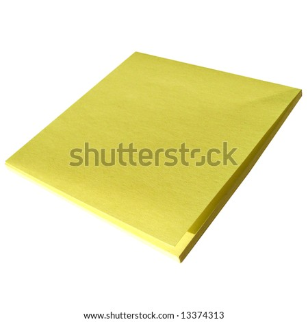 Yellow Postit