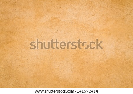 Yellow Roman wall texture background, Rome Italy