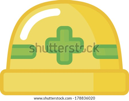 Safety Yellow And Safety Green Yellow Safety Helmet With