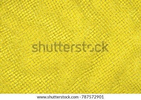 Yellow silver mesh fabric, with a woven metallic thread. Bring it back in the 1920s with this extravagant silvery and black geometric yellow mesh. Grab it while he's still here, #787572901